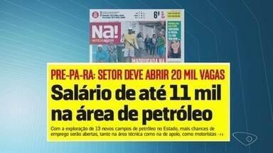 Federação das Indústrias do ES aposta em aumento de vagas de emprego no setor de petróleo - Estimativa é de que até 2030 este mercado movimente R$ 50 bilhões em investimentos, gerando cerca de 20 mil vagas de empregos diretos e indiretos.