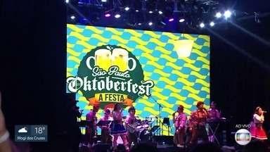 Começa a primeira Oktoberfest de São Paulo - É a tradicional festa alemã que ganha agora uma edição aqui na capital.