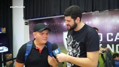 Combo Z: Ramon Ítalo acompanha lançamento de jogo - E teve pelada, também.