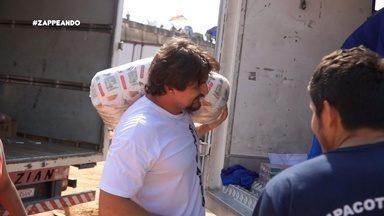 Dupla Identidade: Cantor Nicolas Junior encara um dia de carregador - Desafio ocorreu no Centro de Manaus