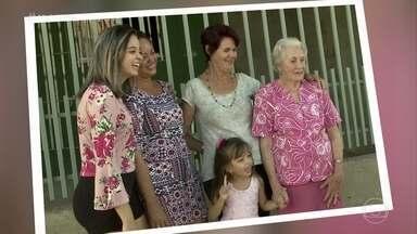 'Mais Você' reúne mulheres de 5 gerações da mesma família - Dona Camélia foi a São Luiz do Maranhão encontrar a filha, a neta, a bisneta e a tataraneta. Foi Milena, a bisneta da senhora, quem entrou em contato com a produção do programa para fazer o pedido