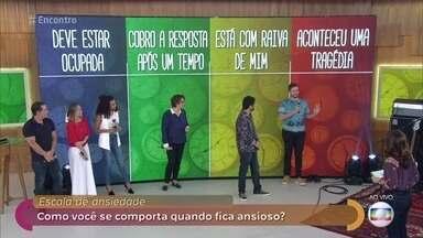 Saiba identificar quando a ansiedade vira doença - O Brasil é o país que mais registra transtorno de ansiedade. Fátima conversa com os convidados sobre o assunto
