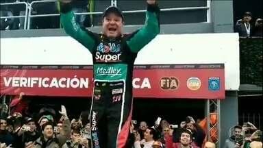Stock Car volta a Buenos Aires com vitória de Felipe Fraga e Rubens Barrichello - Felipe Fraga venceu a primeira etapa debaixo de chuva. Rubens Barrichello venceu a segunda etapa com pneus para pista seca e para-brisa quebrado.