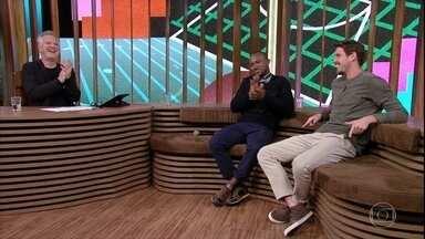 Bruninho fala sobre influência dos pais em sua carreira - Atleta revela que a mãe foi campeã enquanto estava grávida dele