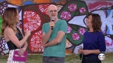 Marco Caruso fala sobre o romance improvável entre Pedrinho e Arlete - Ator fala sobre a relação de amor e ódio de seu personagem em 'Pega Pega'
