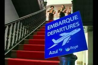 Voos comerciais podem ser retomados em Bagé, RS - Representante de uma companhia aérea esteve na cidade para avaliar a viabilidade do serviço.