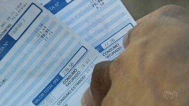 Após passar mês sem água, moradores recebem conta com 150% de aumento em Goiânia - Várias pessoas reclamam da situação.