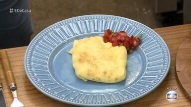 Omelete com Toque Especial - Aprenda com o chef de cozinha Rodrigo Kossatz uma receita deliciosa