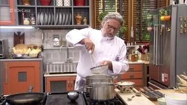 Toque do Ravioli: Roberto Ravioli prepara receitas com fubá - O chef ensina a fazer Polenta com Ragu