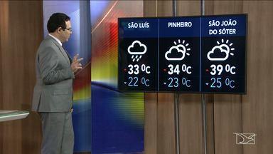 Veja a previsão do tempo neste sábado (14) no MA - Confira como deve ficar o tempo e a temperatura em São Luís e no Maranhão