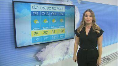 Confira a previsão do tempo para São Carlos e região nesta terça-feira (17) - Confira a previsão do tempo para São Carlos e região nesta terça-feira (17).
