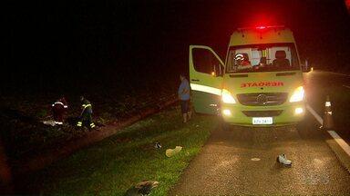 Homem morre atropelado na BR 277 em São Miguel do Iguaçu - O motorista fugiu sem prestar socorro