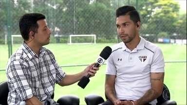 Petros fala sobre jogar no sacrifício e da luta do São Paulo contra o rebaixamento - Petros fala sobre jogar no sacrifício e da luta do São Paulo contra o rebaixamento