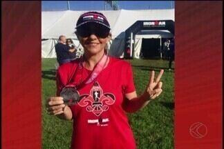 Uberlandense é a primeira mulher da cidade a disputar o Ironman nos EUA - No último fim de semana, Silvana Vieira disputou uma prova de Ironman nos Estados Unidos