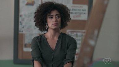 Dóris se preocupa com Bóris e Ellen - A diretora do Cora Coralina comenta com Josefina sobre a situação da aluna, agora que Bóris saiu do Colégio Grupo