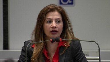 MP entra com uma ação na Justiça contra a deputada Sandra Faraj, do Solidariedade - O Ministério Público acusa a deputada de improbidade administrativa.