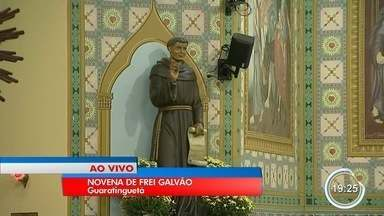 Guará comemora dez anos de canonização de Frei Galvão - Novena acontece no Santuário de Frei Galvão em Guará.