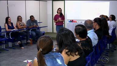 Projeto incentiva pesquisa através de experimentos científicos - Professores e gestores do projeto se reuniram para trocar experiências