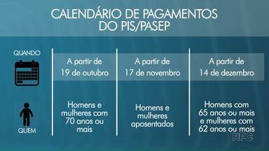Começa nesta quinta-feira (19) o pagamento do PIS/PASEP - Os idosos com mais de 70 anos de idade abrem o calendário de benefício.