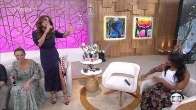 Juliana Paes revela que seu sonho era tocar violino - Atriz conta que chegou estudar violão no conservatório de música, mas depois desistiu