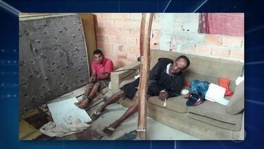 Polícia de São Paulo prende dois suspeitos de matar duas meninas - As meninas Bia e Mel estavam desaparecidas há quase um mês. Um dos homens confessou o assassinato.