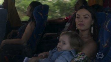 Ritinha foge com Ruyzinho - Sereia afirma que Zeca e Ruy nunca vão conseguir encontrá-la