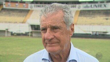 Pinho tem a missão de retirar o Comercial-SP da 4ª divisão do Campeonato Paulista - Novo técnico do Bafo foi apresentado nesta segunda-feira (23).