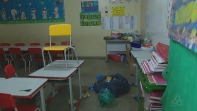 Sobre casos de assaltos a escolas no AP - Crimes assustam professores e alunos