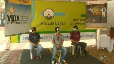 Unicamp recebe evento com teste que simula direção sob efeito de álcool - 'Parada Legal' oferece ainda oficina sobre atendimento de primeiros socorros.