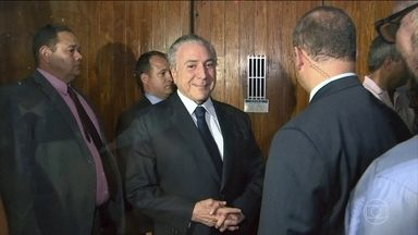 Plenário da Câmara vota nesta quarta (25) se aceita denúncia contra Temer - O mundo político em Brasília assume que o governo conseguirá derrubar pela segunda vez a denúncia formulada pela PGR contra o presidente.
