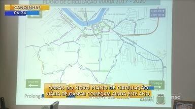 Obras do novo plano de circulação viária de Gaspar devem começar ainda em 2017 - Obras do novo plano de circulação viária de Gaspar devem começar ainda em 2017