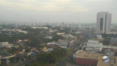 Previsão de chuva de granizo nesta quarta-feira (25) na região de Ribeirão Preto - Termômetros podem marcar 32°C durante a tarde.