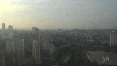 Quarta-feira deve ter temperaturas mais altas e sem previsão de chuva em Campinas - Máxima fica nos 31ºC.
