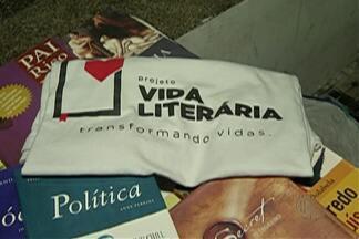 Universidade em Mogi arrecada livros - Projeto Vida Literária atende crianças e jovens.
