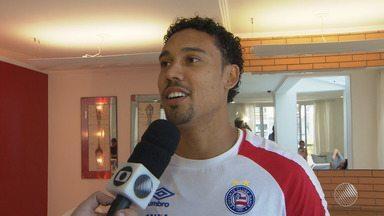 Edigar Junio fala sobre bom momento no Bahia; Rodrigão fica sem treinar após polêmica - Confira as notícias do tricolor baiano.