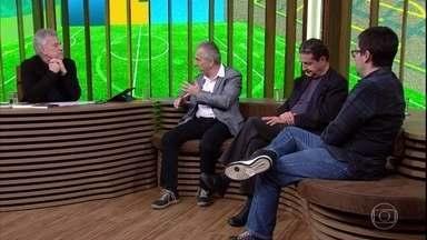 Ronaldo Helal fala sobre a política de base do futebol - Juca Kfouri explica que a seleção era muito jovem