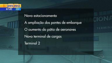 Aeroporto Salgado Filho passará por reformas em janeiro de 2018 - Obras estão avaliadas em R$ 600 milhões.