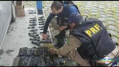 Juristas devem propor à Câmara medidas que aumentem o combate ao tráfico de armas e drogas - A comissão é liderada pelo ministro Alexandre de Moraes, do Supremo Tribunal Federal.