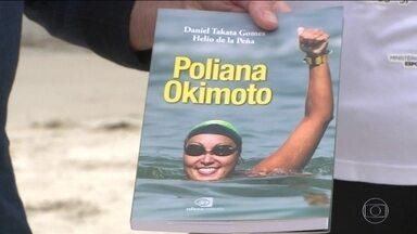 Medalhista olímpica, nadadora Poliana Okimoto lança livro biográfico - O texto foi escrito por Helio de La Peña e Daniel Takata.