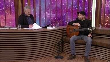 João Bosco fala sobre parceria com Aldir Blanc - Bial mostra mensagem de Aldir para o amigo