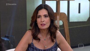 Fátima comenta tratamento para perder o medo de avião - Apresentadora diz que suas viagens estão mais tranquilas