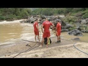 Corpo de adolescentes que se afogou no Rio Piracicaba foi encontrado nesta terça (31) - Meninas tomavam banho no rio, em Antônio Dias, quando começaram a afogar.