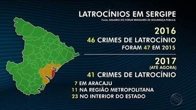 Sergipe aparece em primeira colocação no Nordeste nos crimes de latrocínios - Sergipe aparece em primeira colocação no Nordeste nos crimes de latrocínios.