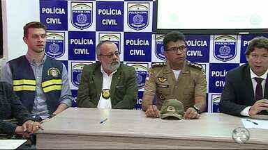 Polícia Civil e Militar divulga resultado da operação 'Força no Foco' - Ação aconteceu nos dias 26 e 27 de outubro, em Altinho.
