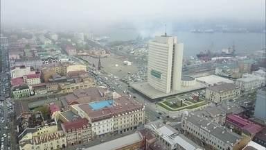 A cidade russa de Vladivostok e uma multinacional de cibersegurança
