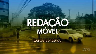 Redação Móvel visita Quedas do Iguaçu - A cidade enfrenta uma onda de desempregos e insegurança