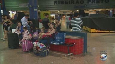 Terminal Rodoviário de Ribeirão Preto deve receber 27 mil passageiros até domingo (5) - Destinos mais procurados são Curitiba (PR), Belo Horizonte (MG), Rio de Janeiro (RJ) e São Paulo (SP).