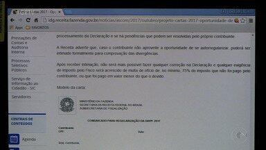Receita Federal envia cartas para contribuintes que estão na malha fina - A correspondência informa os problemas da declaração