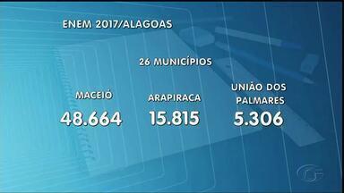 Exame do Enem é aplicado em 26 municípios de Alagoas - Domingo acontece o primeiro dia das provas.