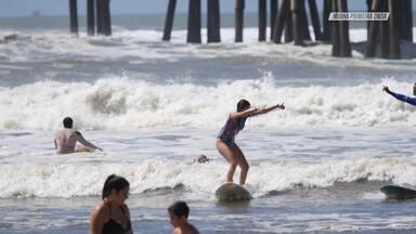 Praia De Tramanda, Yoga E Surfe